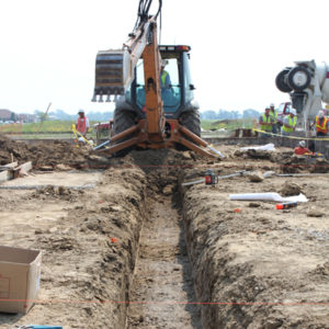 Excavation and Site Utilities | Sarah Bush Hospital